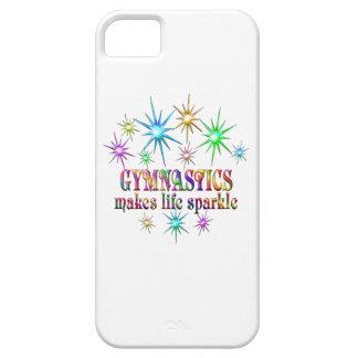 Gymnastik-Glitzern iPhone 5 Case