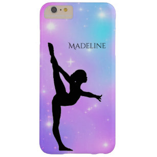 Gymnastik Gradient Phone Case mit Gymnast
