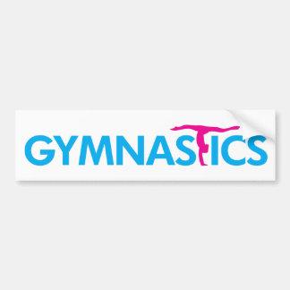 Gymnastik kundengebundene Produkte Autoaufkleber