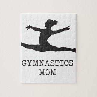 Gymnastik-Mamma Puzzle