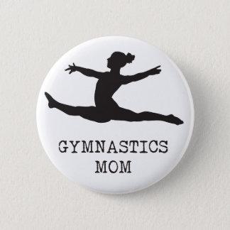 Gymnastik-Mamma Runder Button 5,7 Cm