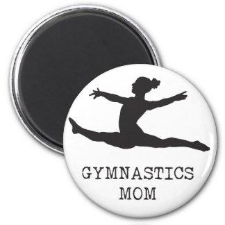 Gymnastik-Mamma Runder Magnet 5,1 Cm