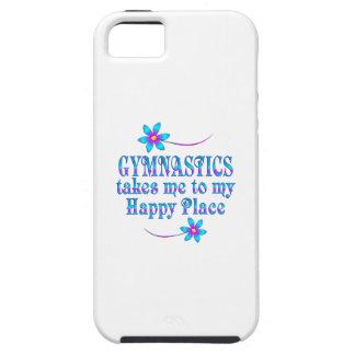 Gymnastik mein glücklicher Platz iPhone 5 Schutzhülle