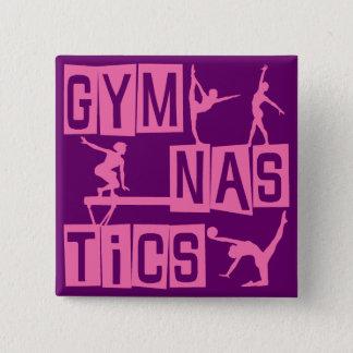 Gymnastik Quadratischer Button 5,1 Cm