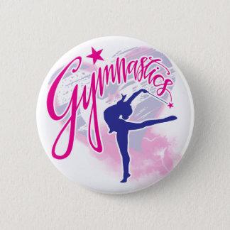 Gymnastik Runder Button 5,1 Cm