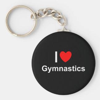 Gymnastik Schlüsselanhänger