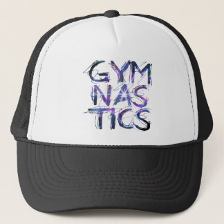 Gymnastik-Shirt-Mann-Frauen kundenspezifisch Truckerkappe