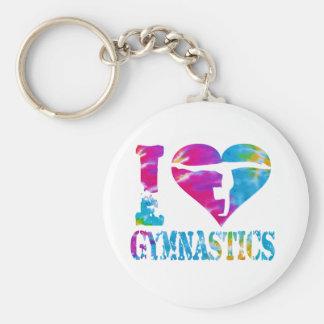 Gymnastik-Tanz-Beifall Keychain Schlüsselanhänger