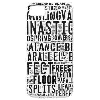 Gymnastik-Wort-Wolke Schutzhülle Fürs iPhone 5