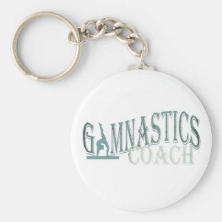 Gymnastiktrainer-Schlüsselkette Standard Runder Schlüsselanhänger