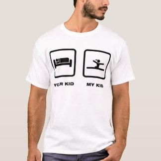 Gymnastisch - Boden-Übung T-Shirt