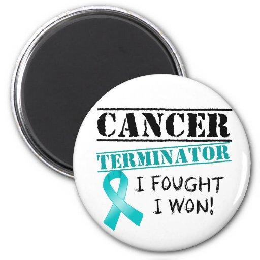 Gynäkologisches Krebs-Abschlussprogramm Kühlschrankmagnet