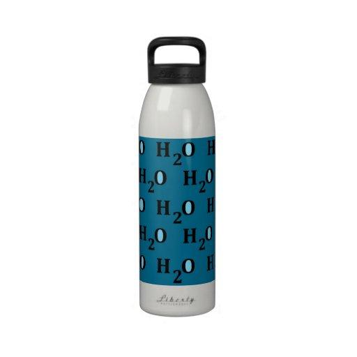 H2O Wasserflasche