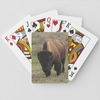 H.A.S. Kunst-Bison-Spielkarten Spielkarten
