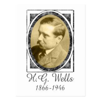H G Wells Postkarten