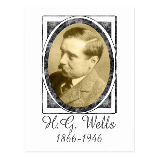 H.G. Wells Postkarten