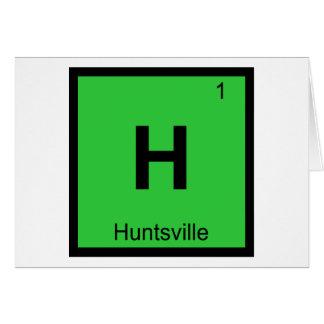 H - Huntsville-Stadt-Chemie-Periodensystem Karte
