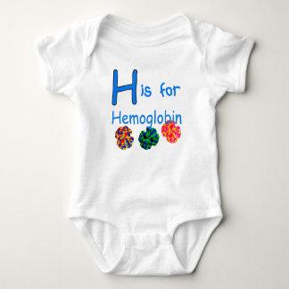 H ist für Hämoglobin Baby Strampler