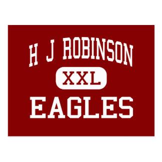 H J Robinson - Eagles - Mitte - Lowell Postkarte
