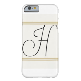 H-Monogramm Iphone Fall! Barely There iPhone 6 Hülle