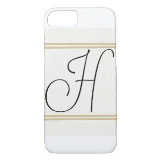 H-Monogramm Iphone Fall! iPhone 8/7 Hülle