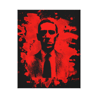 H. P. Lovecraft Tribute Leinwanddruck