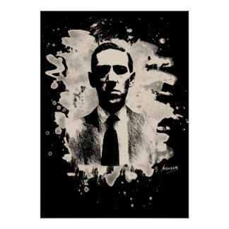 H. P. Lovecraft Tribute Poster