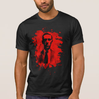 H. P. Lovecraft Tribute (red) T-Shirt