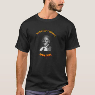H. TUBMAN - Freiheits-Kämpfer-T-Stück (Schwarzes, T-Shirt
