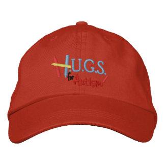 H.U.G.S. für Autismus gestickter justierbarer Hut