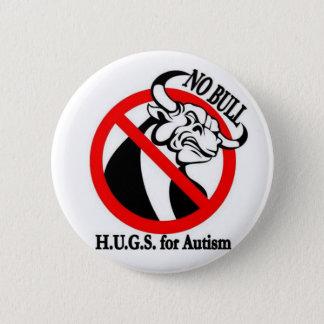 H.U.G.S. für Autismus Runder Button 5,1 Cm