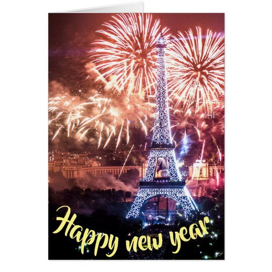 ha[[y new year karte