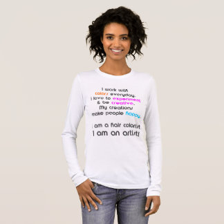 Haar-Farbenkünstler-T - Shirt