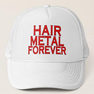 Haar-Metall für immer Truckerkappe