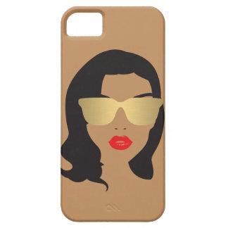 Haar-Salon, Stylist, Schönheits-Mädchen II iPhone Etui Fürs iPhone 5