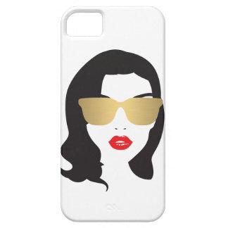 Haar-Salon, Stylist, Schönheits-Mädchen iPhone iPhone 5 Case