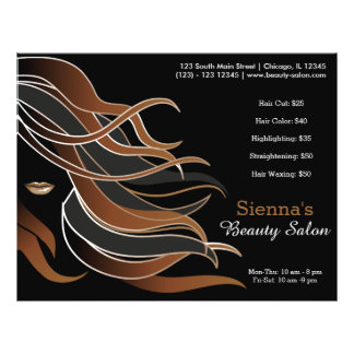 Haar-Stylist Personalisierte Flyer