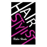 Haar-Stylist-Geschäfts-Karten Visitenkartenvorlagen