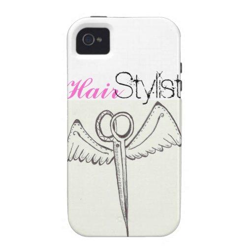 Haar-Stylist IPhone 4 Fall Vibe iPhone 4 Case