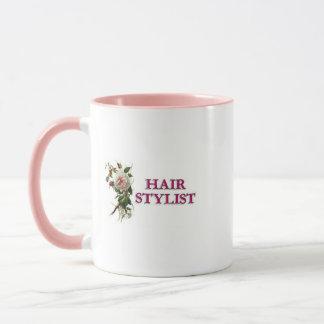 Haar-Stylist-Rose Tasse