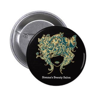 Haar-Stylist Runder Button 5,1 Cm