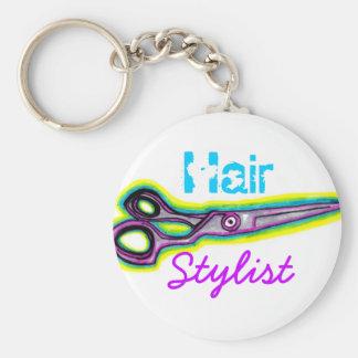 Haar-Stylist schier Keychain Schlüsselanhänger