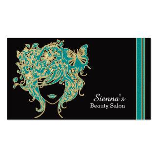 Haar-Stylist-Verabredungskarte Visitenkarten