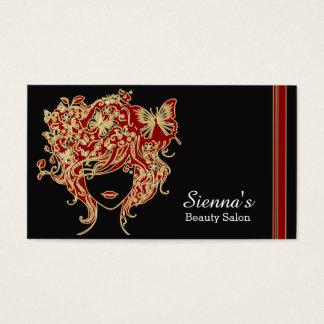 Haar-Stylist Visitenkarte