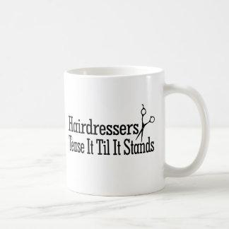 Haar-Stylisten Kaffeetasse
