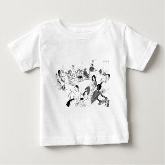 Haar-und Schönheits-Stylist-Kunden Baby T-shirt