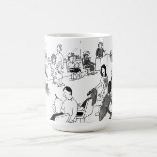 Haar-und Schönheits-Stylist-Kunden Kaffeetasse
