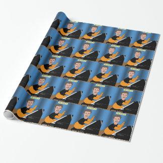 Haarige Gurren-Verwirrung Einpackpapier