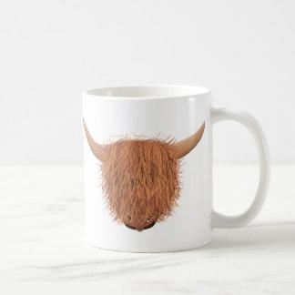 Haarige Hochland-Kuh-Spaß-Tasse Tasse