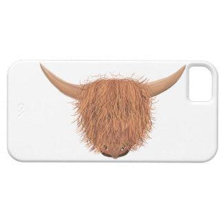 Haariger Hochland-Kuh iPhone 5 Fall iPhone 5 Schutzhülle